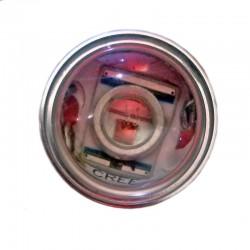 Ampoule Led P21W BA15S à 1 Led rouge Cree Q5 9-30 volts