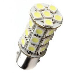 Ampoule led P21/5W BAY15D à 24 leds 9-30 volts