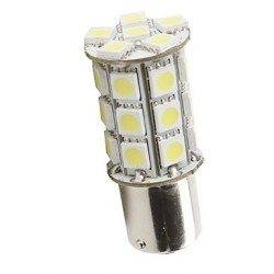 Ampoule led P21/5W BAY15D à 27 leds 9-30 volts