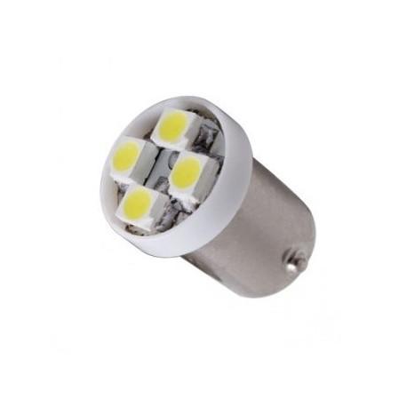 Ampoule Led T4W BA9S à 4 leds 24 volts