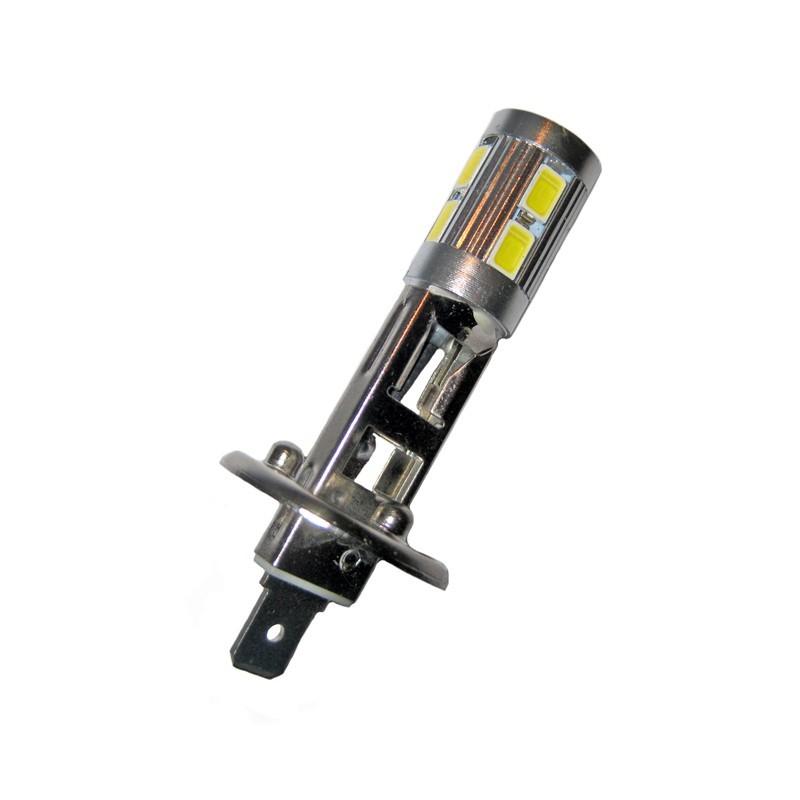ampoule led h1 10 leds 5630 9 30v led pl. Black Bedroom Furniture Sets. Home Design Ideas