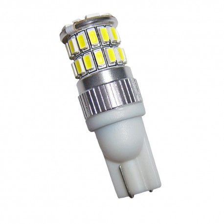 Ampoule Wedge T10 W5W W16W 36 leds blanches 5630 9 à 30 volts