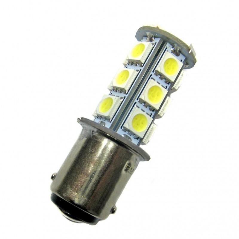 ampoule led ba15d 18 leds 5050 9 30 volts led pl. Black Bedroom Furniture Sets. Home Design Ideas