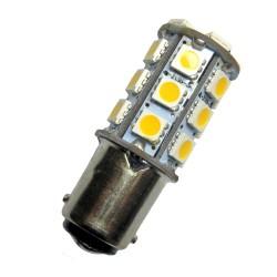 Ampoule led BA15D à 24 leds 5050 9-30 volts