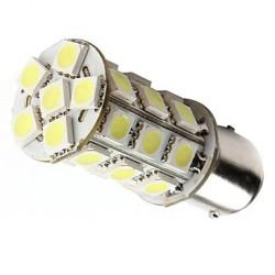 Ampoule led BA15D à 27 leds blanches 9-30v