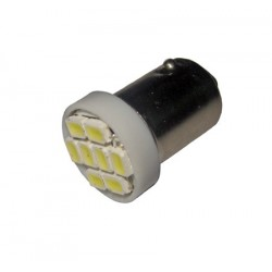 Ampoule Led T4W BA9S à 8 leds 24 volts