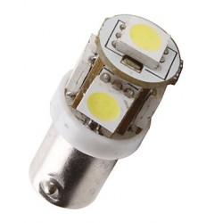 Ampoule Led H6W BAX9S à 5 leds 24 volts non polarisée