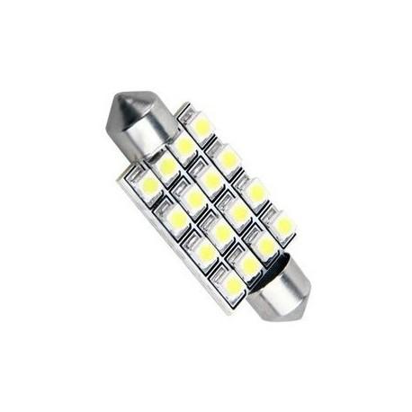 Ampoule navette C5W 42mm à 16 leds 24 volts