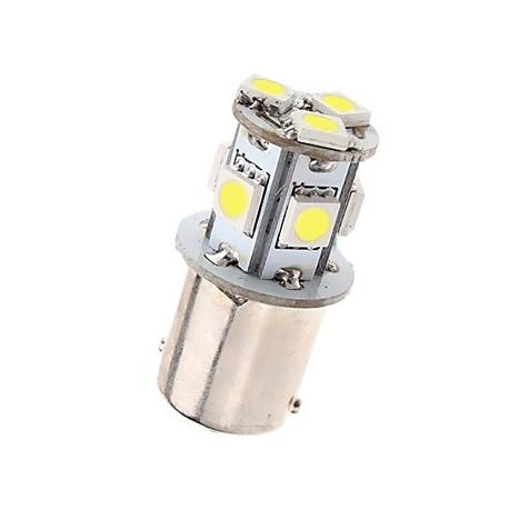 Ampoule led R5W BA15S à 8 leds 5050 9-30 volts