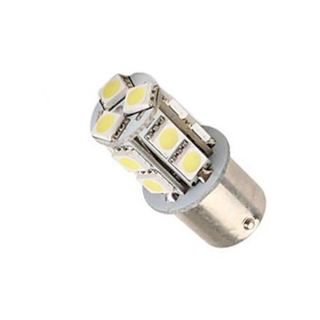 Ampoule led R10W BA15S à 13 leds 5050 9-30 volts
