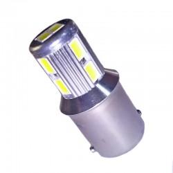 Ampoule à 10 leds 5630 R10W BA15S 9-30 volts