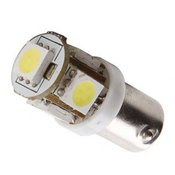 Ampoule Led T4W BA9S à 5 leds 24 volts
