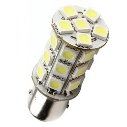 Ampoule led P21/5W BAY15D à 24 leds 9-30 volts