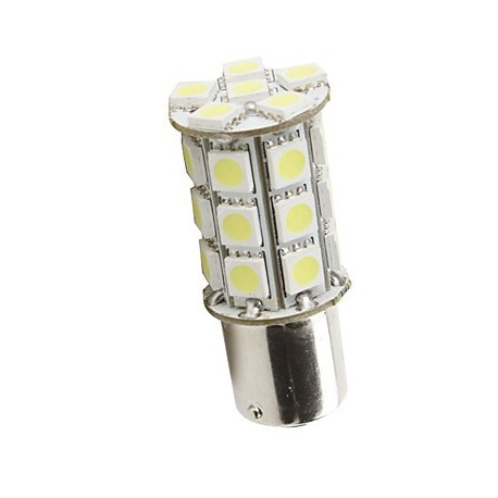 Ampoule led P21/5W BAY15D à 27 leds 9-30 volts