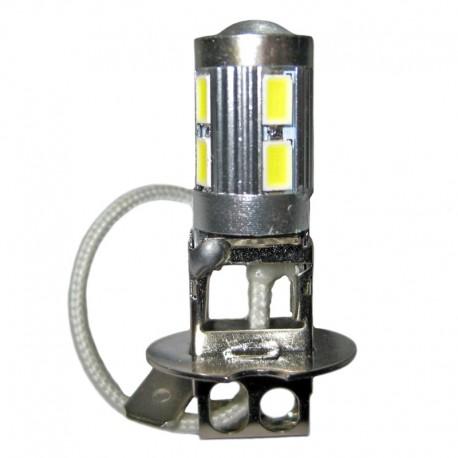 Ampoule led H3 à 10 leds 5630 9-30v