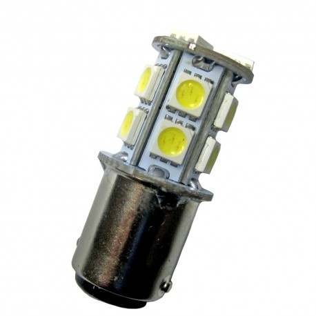 Ampoule led BA15D à 13 leds 5050 9-30 volts
