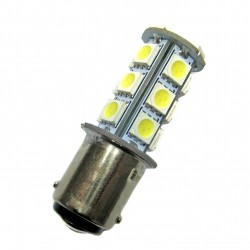 Ampoule led BA15D à 18 leds 5050 9-30 volts