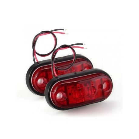 Paire de feux rouge pour remorque et tracteur