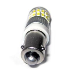 Ampoule H21W BAY9S à 36 leds blanches  9 à 30 volts