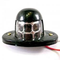 Eclairage 24 volts pour plaque d'immatriculation à 6 leds