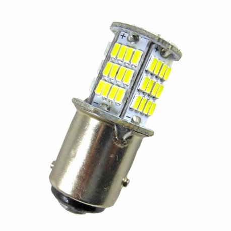 Ampoule led 24 volts de type P21/5W BAY15D à 78 leds