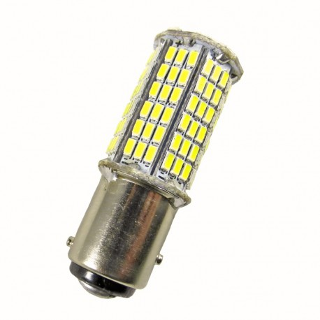 Ampoule led 24 volts de type P21/5W BAY15D à 144 leds