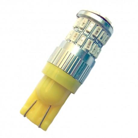 Ampoule Wedge T10 W5W W16W 36 leds Ambres
