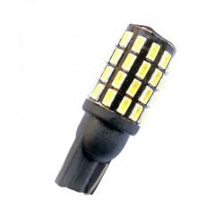 Ampoule Wedge T10 W5W W10W W16W 54 leds blanches 3014