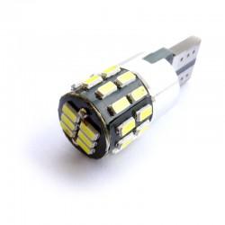 Ampoule Wedge T10 W5W W10W W16W 30 leds avec fonction anti-erreur
