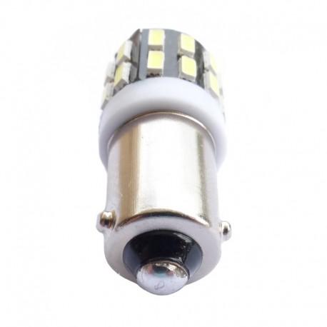 Ampoule Led H6W BAX9S 6 leds 5630 9-30v