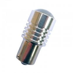 Ampoule Led P21W BA15S à 1 Led rouge Cree