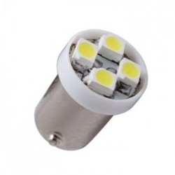 Ampoule Led H6W BAX9S à 4 leds 24 volts