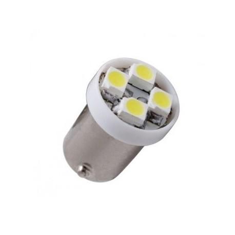 Ampoule Led H6W BAX9S à 4 leds 24 volts