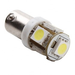 Ampoule Led H6W BAX9S à 5 leds 24 volts