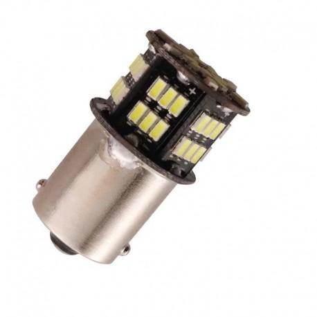 Ampoule led P21W BA15S à 54 leds blanches