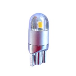 Ampoule Wedge T10 W5W W16W 2 leds blanches 3030