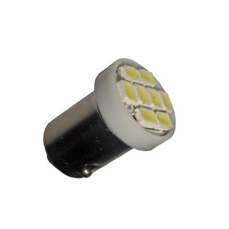 Ampoule Led H6W BAX9S à 8 leds 24 volts
