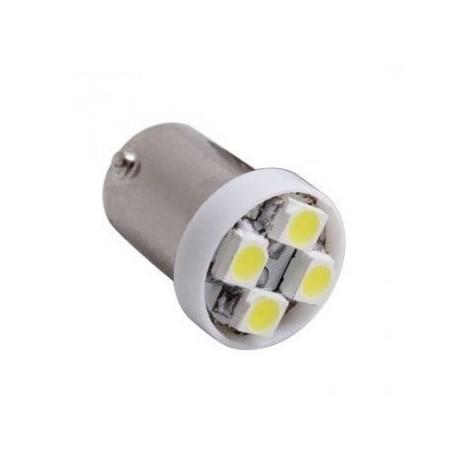 Ampoule Led H6W BAX9S à 4 leds 24 volts non polarisée